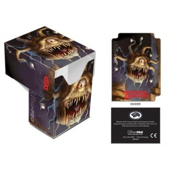 UP Ultra Pro - Full-View Deck Box - Dungeons & Dragons - Beholder 074427865207