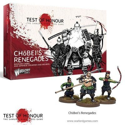Test of Honour Chobei's Renegades - Warlord Games