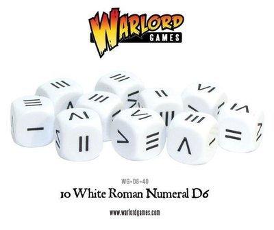 Roman Numeral dice - D6 - Hail Caesar - Römer
