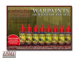 Warpaints Quickshade Ink Set - Army Painter Warpaints