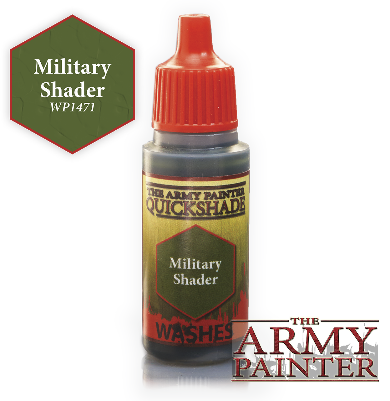 Military Shader Ink Wash - Army Painter Warpaints WP1471