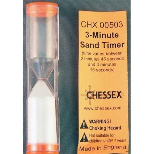 3-Minute Sand Timer - Sanduhr 3 Minuten