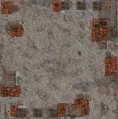 Wolsung Gaming Mat - 100x100cm - Square - Spielmatte - Micro Art Studio