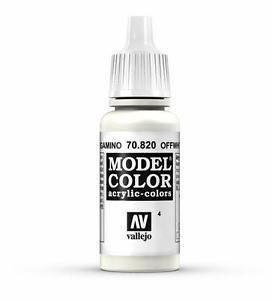 Model Color Off White - Vallejo - Farben