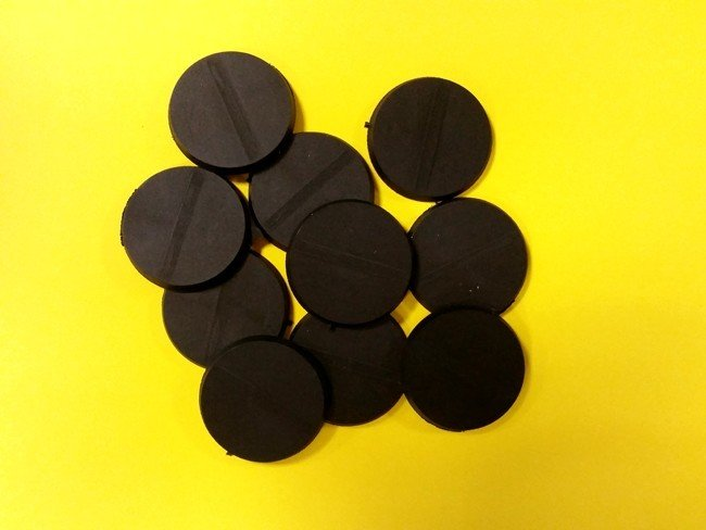 32mm Bases rund  - (10 Stk.) Base32-14