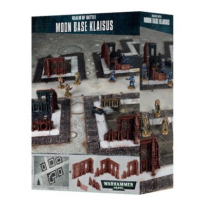 REALM OF BATTLE: MOON BASE KLAISUS - Warhammer 40.000 - Games Workshop