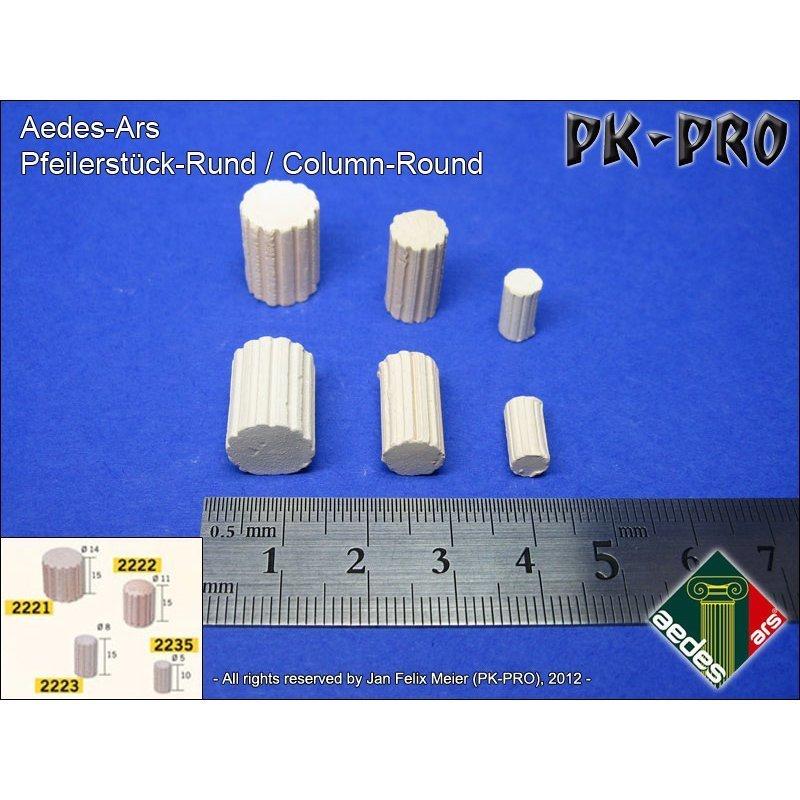 Pfeilerstück-Rund-Klein-(2223)-(50x) - PK-Pro
