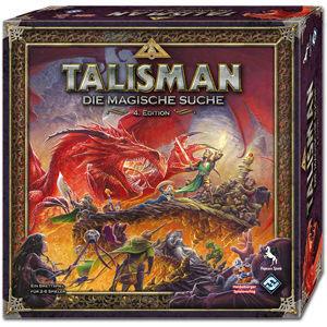 Talisman: Die Magische Suche - 4.Edition - Brettspiel 4015566010611