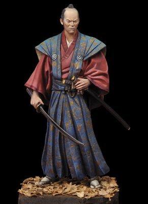 Samurai Daimyo 1750 1/24 - 75mm - Andrea Miniatures