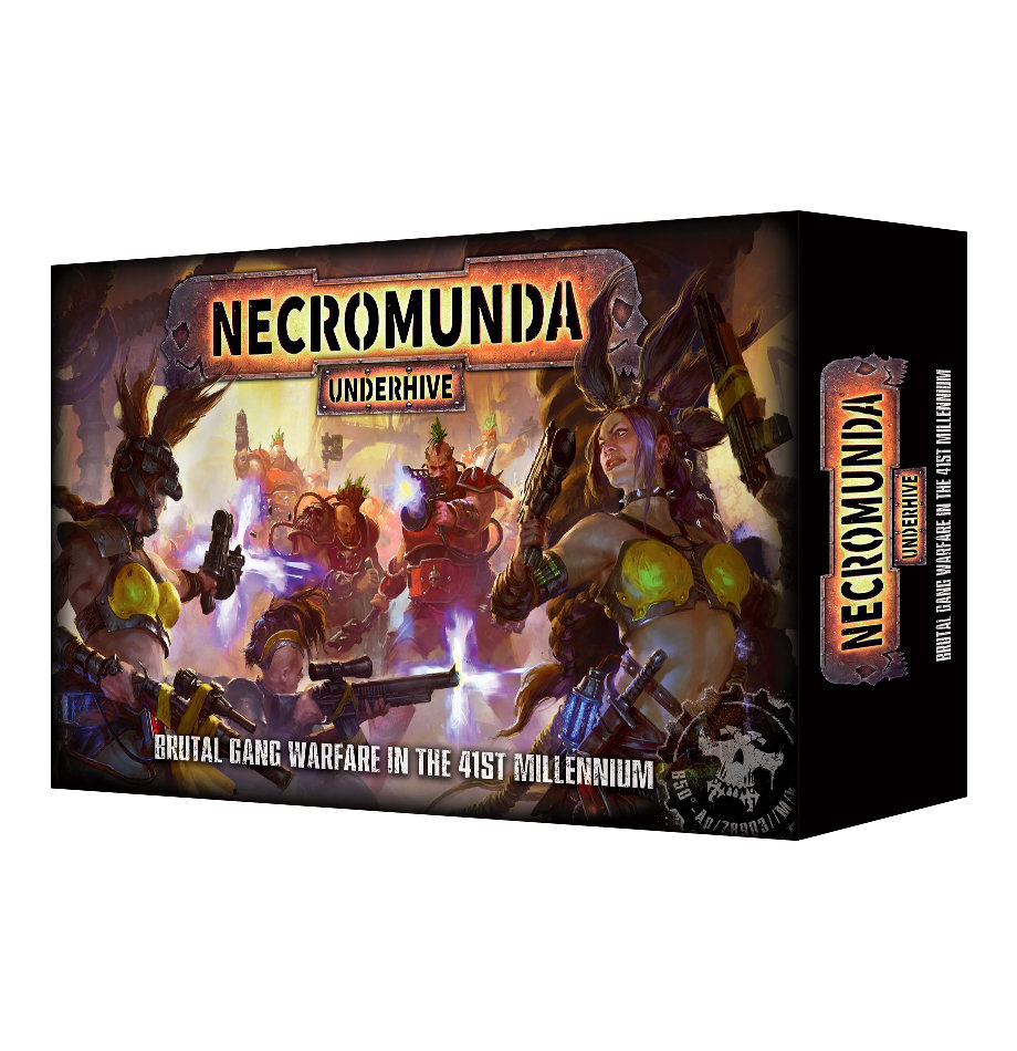 Necromunda: Underhive Grundbox Deutsch - Games Workshop 60010599001d