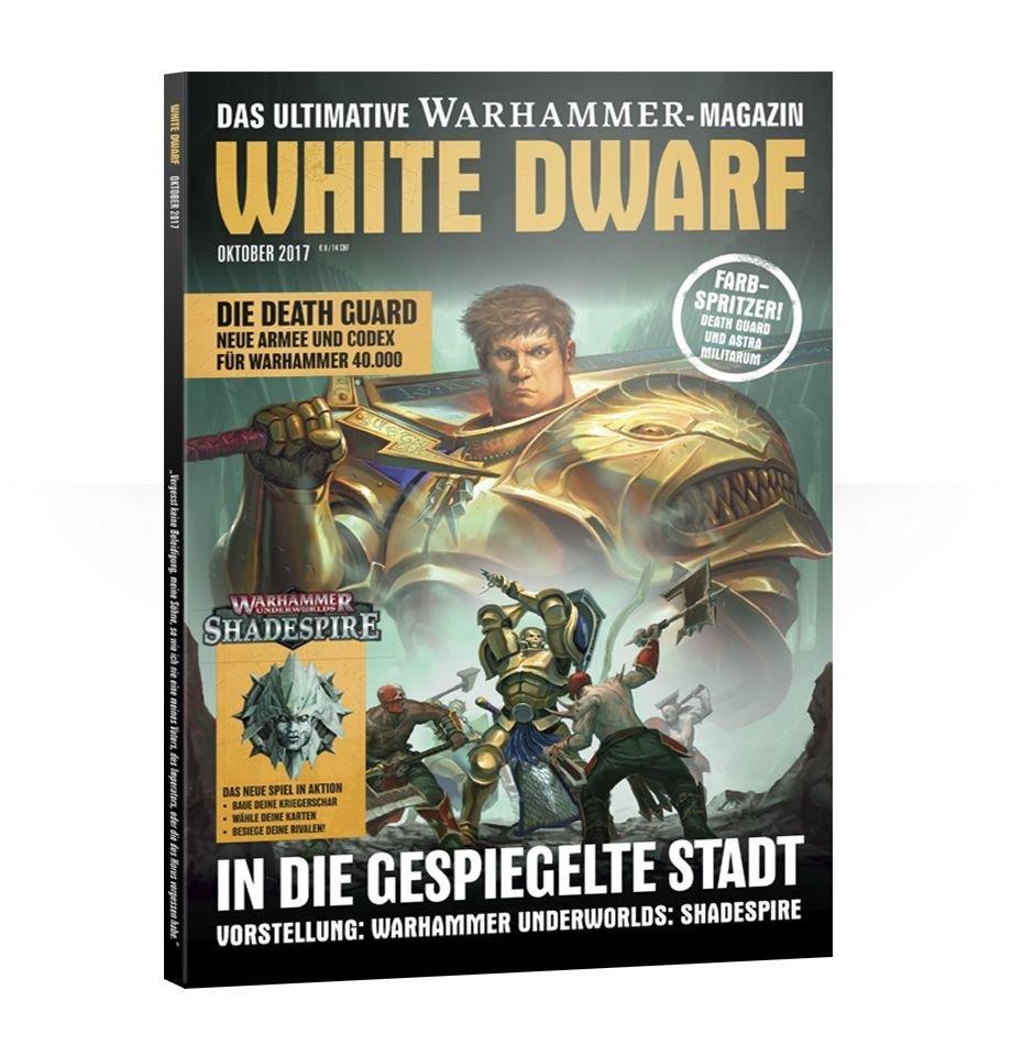 White Dwarf Oktober 2017 (Deutsch) - Games Workshop 04249999563