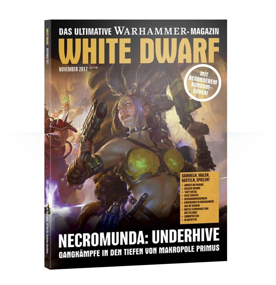 White Dwarf November 2017 (Deutsch) - Games Workshop 04249999564