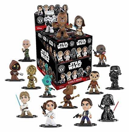 Mystery Minis - Star Wars Bobble-Heads (1 Figur Zufall) - Funko FAC-053571-17166