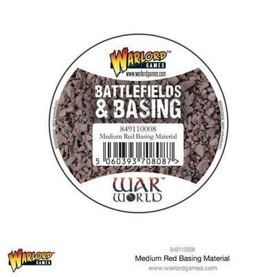 Medium Red Basing Material - Warlord Scenics - Warlord Games