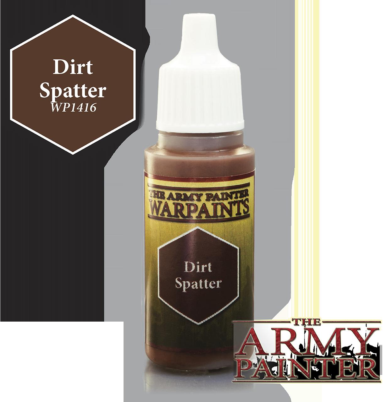 Dirt Splatter - Army Painter Warpaints