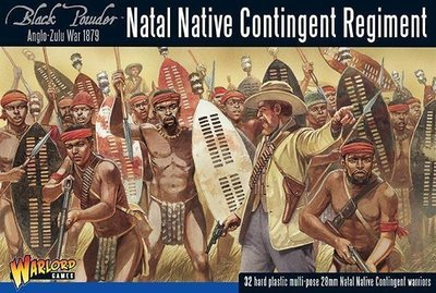 Anglo-Zulu War: Natal Native Contingent Regiment - Black Powder - Warlord Games