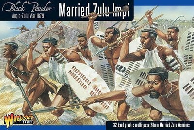 Anglo-Zulu War: Married Zulu Impi - Black Powder - Warlord Games