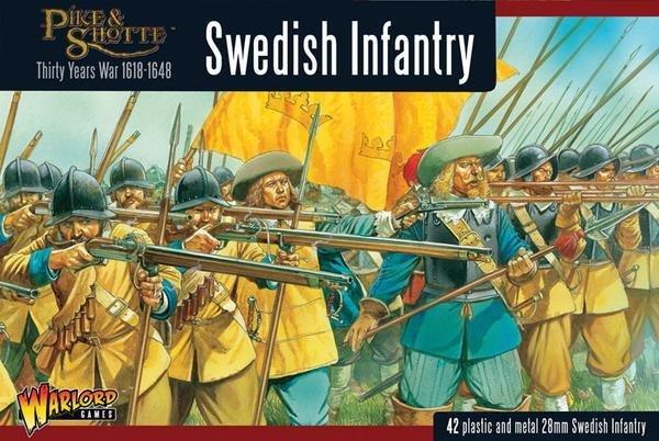 Swedish Infantry Regiment boxed set - Pike & Shotte - Warlord Games