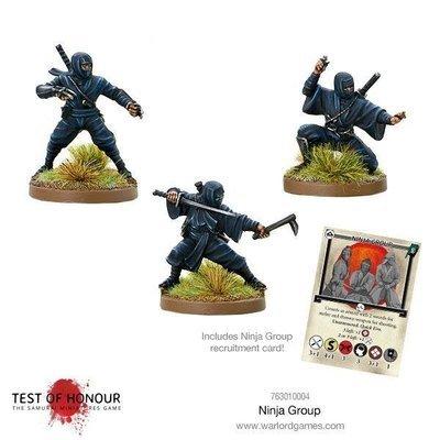 Ninja Group - Test of Honour - Warlord Games