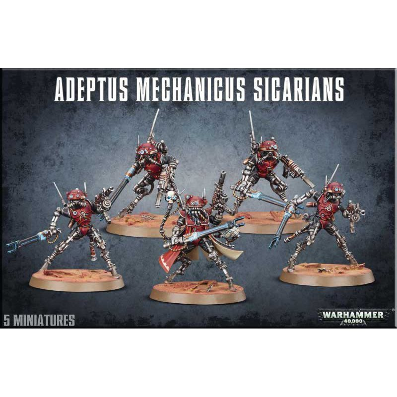 ADEPTUS MECHANICUS SICARIANS - Warhammer 40.000 - Games Workshop 99120116003