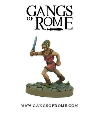 Fighter Deciumus - Gangs of Rome - Warlord Games