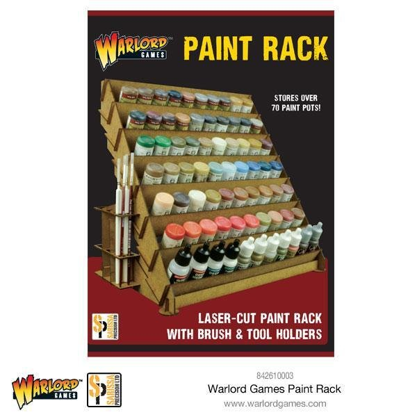 Warlord Large Paint Rack - Farbregal Ständer - Warlord Games 842610003