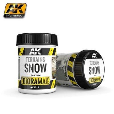 Terrains Snow 250ML - AK Interactive