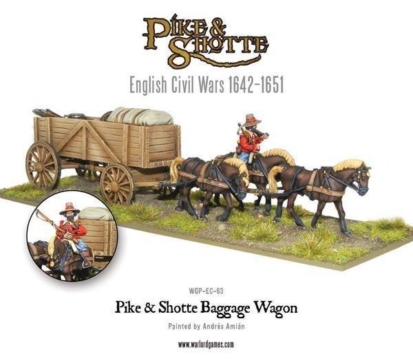 Baggage Wagon - Pike & Shotte - Warlord Games