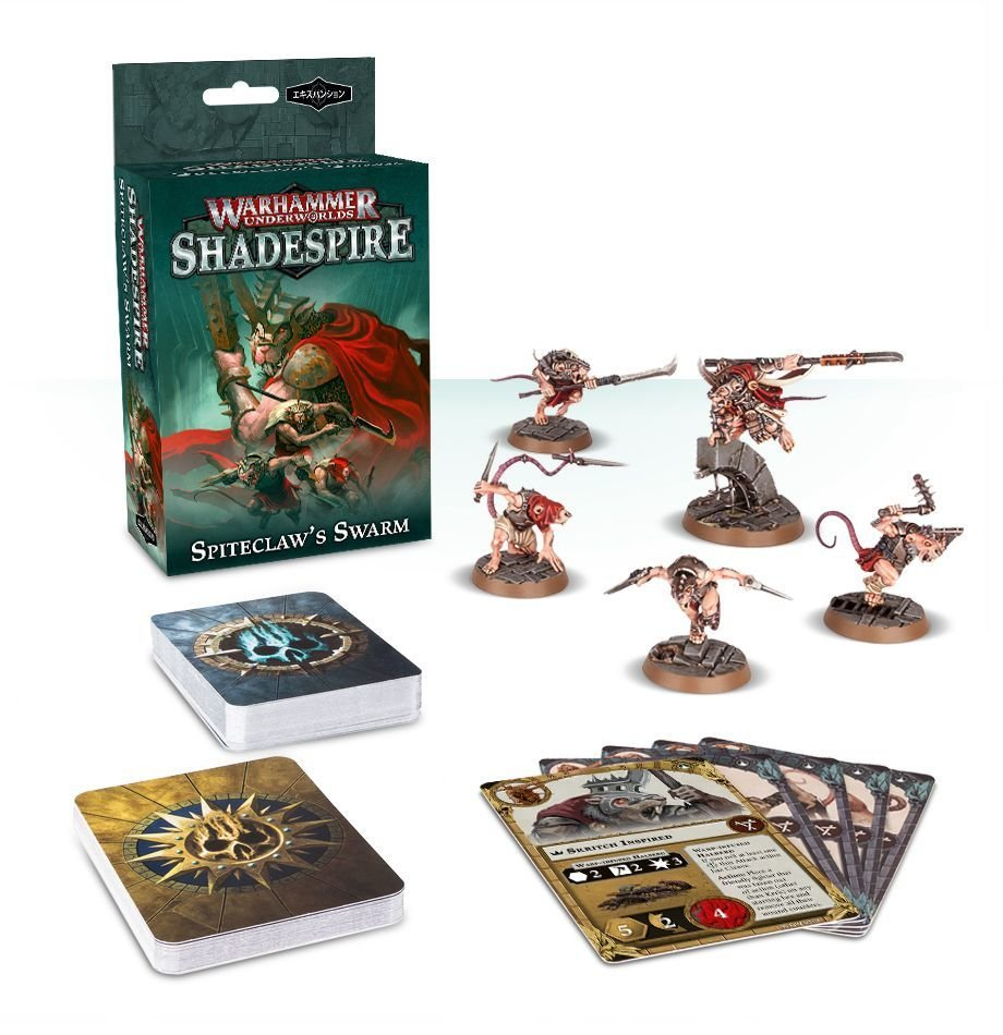 Warhammer Underworlds: Shadespire – Zwistklaues Schwarm (Deutsch) - Games Workshop 04120706001