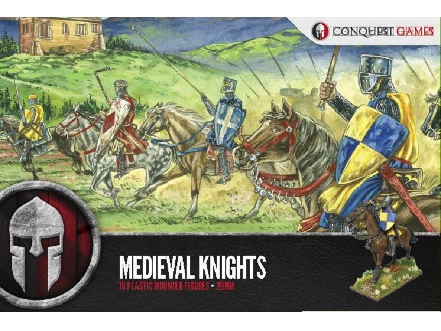 Medieval Knights - SAGA - Conquest Games