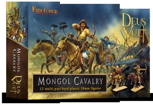 Mongol Cavalry (12) - Deus Vult - Fireforge Games FFG009