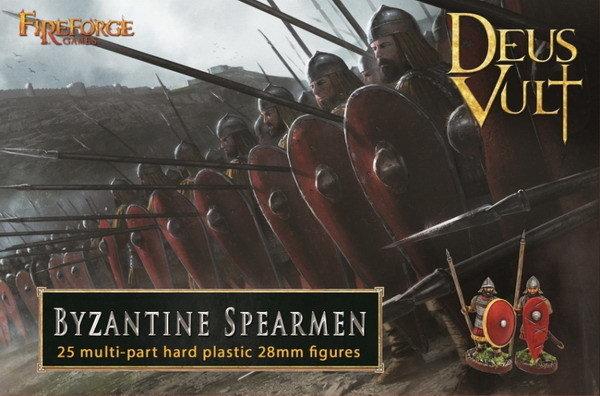 Byzantine Spearmen (25) - Deus Vult - Fireforge Games