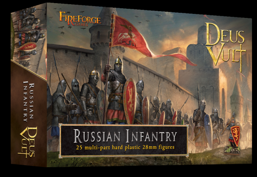 Russian Infantry (25) - Deus Vult - Fireforge Games FFG010
