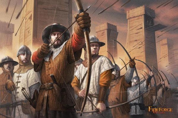 Medieval Archers (24) - Deus Vult - Fireforge Games FFG011