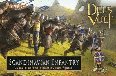 Scandinavian Infantry - Deus Vult - Fireforge Games