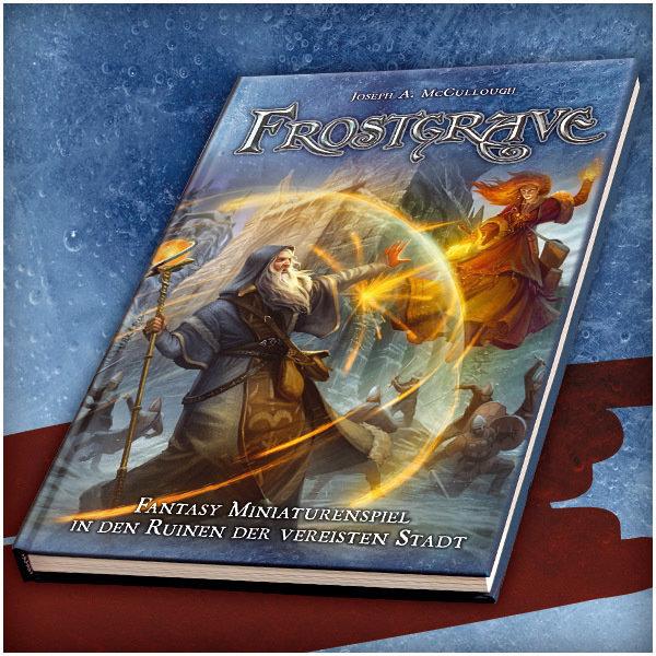 Frostgrave: Fantasy Miniaturenspiel in der vereisten Stadt - Frostgrave Regelbuch (DEUTSCH) - Osprey/Northstar MH-RBFG01