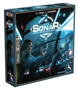 Captain Sonar - Deutsch - Pegasus Spiele 4250231712210