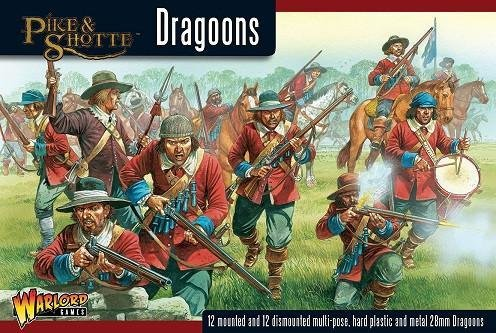 Montrose Irish boxed set - Pike & Shotte - Warlord Games