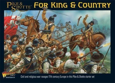 Starter - For King & Country - Pike & Shotte - Warlord Games