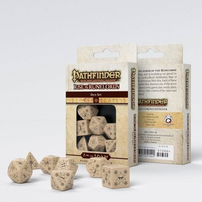 Pathfinder Würfel Set Rise of Runelords (7) - Q-Workshop