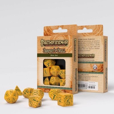 Pathfinder Würfel Set Serpent's Skull (7) - Q-Workshop