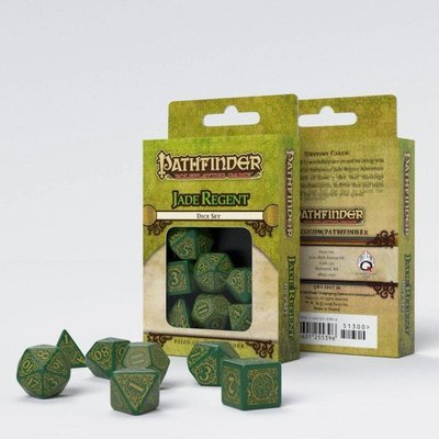 Pathfinder Würfel Set Jade Regent (7) - Q-Workshop