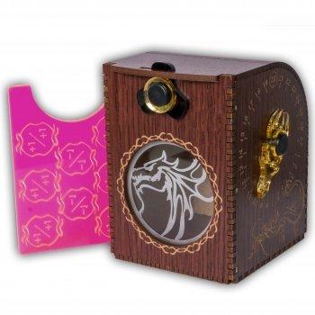 Wooden Deck Case - Dragon - Kartenbox