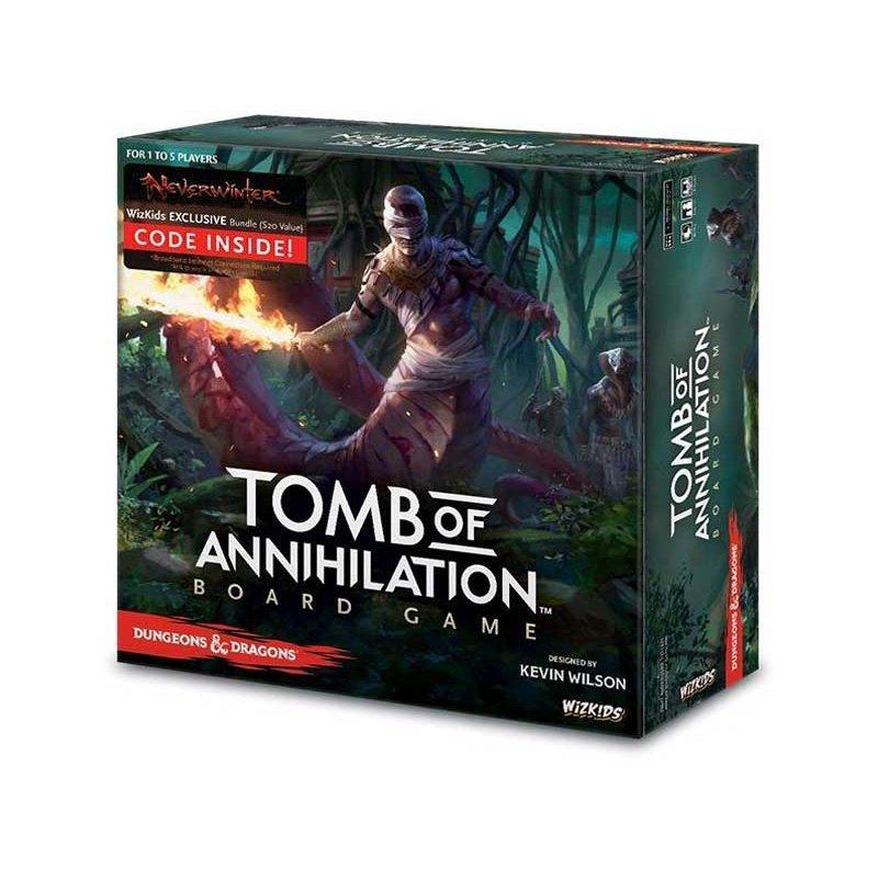 D&D: Tomb of Annihilation Adventure System Board Game (Standard Edition) - EN - Brettspiel