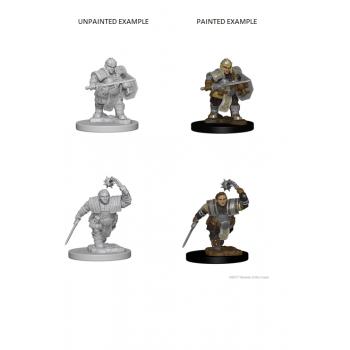 D&D Nolzur's Marvelous Miniatures - Dwarf Female Fighter WZK72617