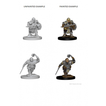 D&D Nolzur's Marvelous Miniatures - Dwarf Female Fighter