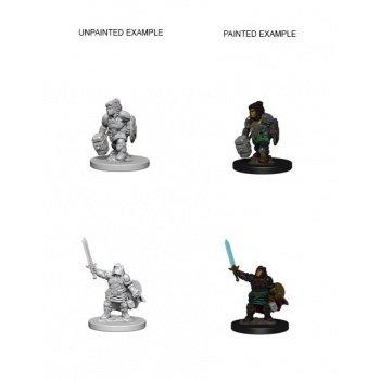 D&D Nolzur's Marvelous Miniatures - Dwarf Female Paladin
