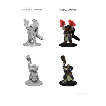 D&D Nolzur's Marvelous Miniatures - Dwarf Male Cleric