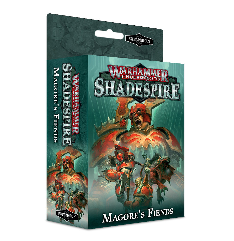 Warhammer Underworlds: Shadespire – Magore's Fiends (Englisch) - Games Workshop 60120701001