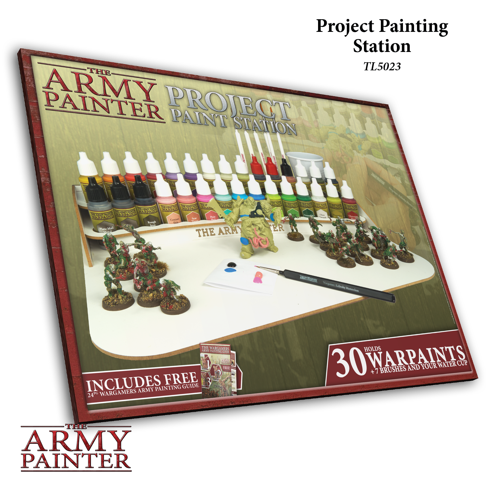 Project Paint Station - Malstation - Army Painter Tools AP-TL5023